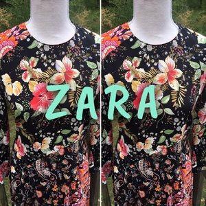 Zara Woman NWOT Beautiful Long Dress Size XS